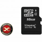 16Gb microSDHC class 4 Kingston (SDC4/16GBSP)