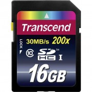 16Gb SDHC class 10 Transcend (TS16GSDHC10)