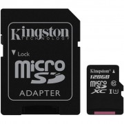 Kingston 128GB microSDXC Class 10 UHS-I (SDC10G2/128GB)