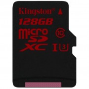 Kingston 128GB microSDXC class10 UHS-I U3 (SDCA3/128GBSP)