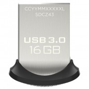 SANDISK 16GB Ultra Fit USB 3.0 (SDCZ43-016G-GAM46)