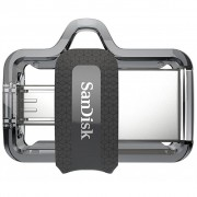 SANDISK 64GB Ultra Dual Black USB 3.0 OTG (SDDD3-064G-G46)