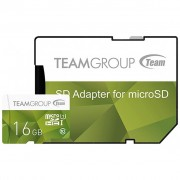 Team 16GB microSD Class 10 UHS-I (TCUSDH16GUHS43)