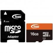 Team 16Gb microSDHC UHS-I (TUSDH16GUHS03)