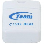 Team 8GB C12G White USB 2.0 (TC12G8GW01)