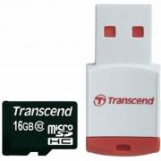 Transcend 16Gb microSDHC class 10 (TS16GUSDHC10-P3)