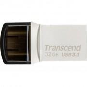 Transcend 32GB JetFlash 890S Silver USB 3.1 (TS32GJF890S)