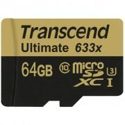Transcend 64GB microSD class10 UHS-I U3 (TS64GUSDU3)