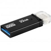 GOODRAM 32GB OTN3 (Twin) Black OTG USB 3.0 (OTN3-0320K0R11)