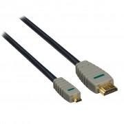 HDMI A to HDMI D (micro), 2.0m Bandridge (BVL1702)