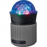 Trust Dixxo Go Wireless Bluetooth Speaker with party lights grey (21345)