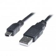 USB 2.0 AF to mini-B 5P OTG 0.1m REAL-EL (EL123500014)