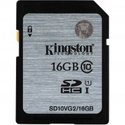 Kingston 16GB SDHC UHS-I Class10 (SD10VG2/16GB)