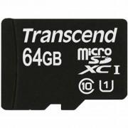Transcend 64Gb microSDXC Class10 UHS-I (TS64GUSDU1)