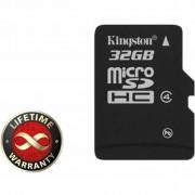 32Gb microSDHC class 4 Kingston (SDC4/32GBSP)