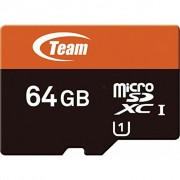 Team 64Gb microSDXC class 10 (TUSDX64GUHS03)