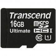 Transcend 16Gb microSDHC Class 10 UHS-I Ultimate 600x (TS16GUSDHC10U1)