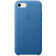Аксесуар для iPhone Apple Leather Case Sea Blue (MMY42) for iPhone 7