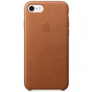 Аксессуар для iPhone Apple Leather Case Saddle Brown (MMY22) for iPhone 7
