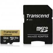 Transcend 64GB microSDXC class 10 UHS-I U3 MLC (TS64GUSDU3M)