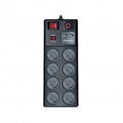 REAL-EL RS-8F USB CHARGE 3m, black (EL122300004)