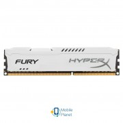 DDR3 4Gb 1600 MHz HyperX Fury White Kingston (HX316C10FW/4)