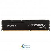DDR3 8Gb 1600 MHz HyperX Fury Black Kingston (HX316C10FB/8)