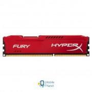 DDR3 8Gb 1600 MHz HyperX Fury Red Kingston (HX316C10FR/8)