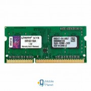 SoDIMM DDR3 4GB 1600 MHz Kingston (KVR16S11S8/4G)