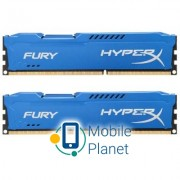DDR3 16Gb (2x8GB) 1866 MHz HyperX Fury Blu Kingston (HX318C10FK2/16)