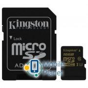 Kingston 16GB microSDHC class 10 UHS-I U3 4K (SDCG/16GB)