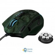 Trust GXT 155C Gaming Mouse - green camouflage (20853)