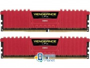 Corsair 16GB 3200MHz Vengeance LPX Red CL16 (2x8GB) (CMK16GX4M2B3200C16R) EU