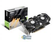 MSI GeForce GTX 1050 Ti 4GT OC 4GB GDDR5 (128 Bit) HDMI, DVI-D, DP, BOX (GTX1050Ti4GTOC4GB) EU