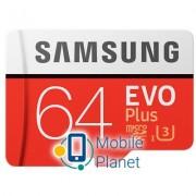 Samsung 64GB microSD class 10 EVO PLUS UHS-I (MB-MC64GA/RU)