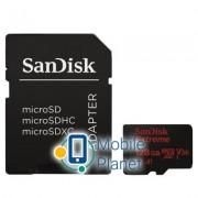 SANDISK 128GB microSD class 10 A1 V30 UHS-I U3 Extreme Action (SDSQXAF-128G-GN6AA)
