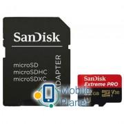 SANDISK 32GB microSD class 10 V30 A1 UHS-I U3 4K Extreme Pro (SDSQXCG-032G-GN6MA)