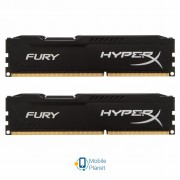 DDR3 8Gb (2x4GB) 1600 MHz HyperX Fury Black Kingston (HX316C10FBK2/8)