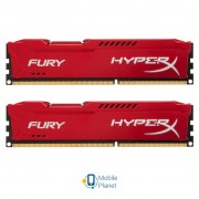DDR3 16Gb (2x8GB) 1866 MHz HyperX Fury Red Kingston (HX318C10FRK2/16)