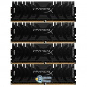 DDR4 32GB (4x8GB) 3200 MHz HyperX Predator Lifetime Kingston (HX432C16PB3K4/32)