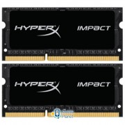 SODIMM DDR3 16GB (2x8GB) 1600 MHz Kingston (HX316LS9IBK2/16)