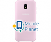 Чехол защитный J5 2017 EF-PJ530CPEGRU Pink Dual Layer Cover Госком