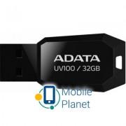 A-DATA 32GB DashDrive UV100 Black USB 2.0 (AUV100-32G-RBK)