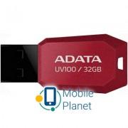 A-DATA 32GB DashDrive UV100 Red USB 2.0 (AUV100-32G-RRD)