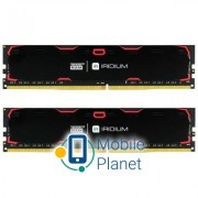 DDR4 16GB (2x8GB) 2400 MHz Iridium Black GOODRAM (IR-2400D464L15S/16GDC)