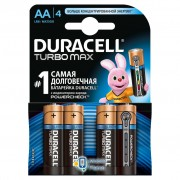 AA TURBO MAX LR6 MN1500 4 Duracell (5000394069190 / 81546727)