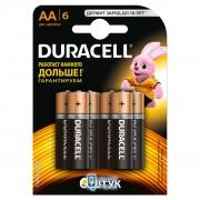 Duracell AA MN1500 LR06 6 (5000394107458 / 81485016)
