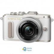 OLYMPUS E-PL8 14-42 mm Pancake Zoom Kit white/silver (V205082WE000)