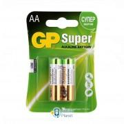 AA LR6 Super Alcaline * 2 GP (GP15A-2UE2)