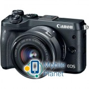 Canon EOS M6 + 15-45 IS STM Kit Black (1724C043AA)